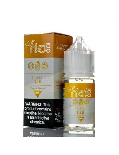 Naked 100 salt - Maui sun 30ml