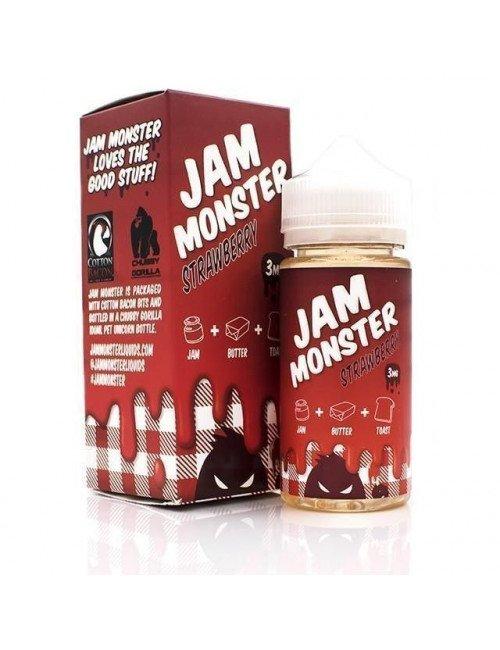 Jam Monster - Strawberry 100 ml
