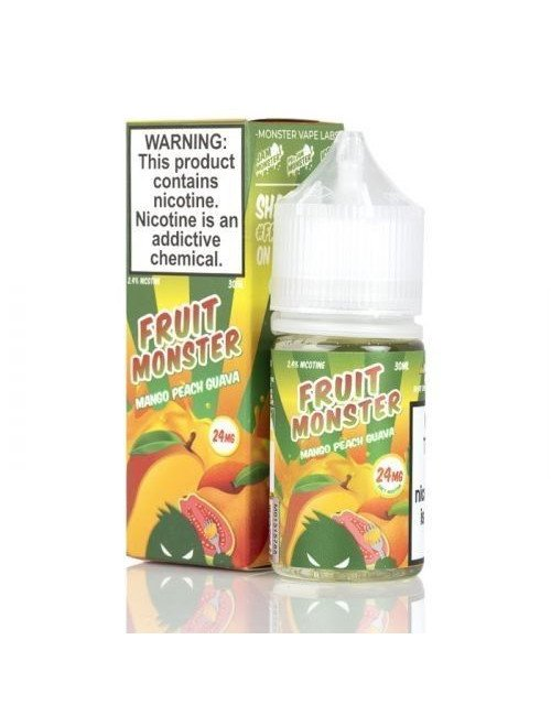 Fruit Monster salt - Mango Peach Guava 30 ml