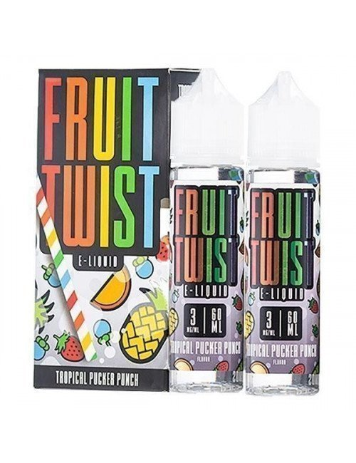 Fruit Twist - Tropical Pucker Punch 120ml