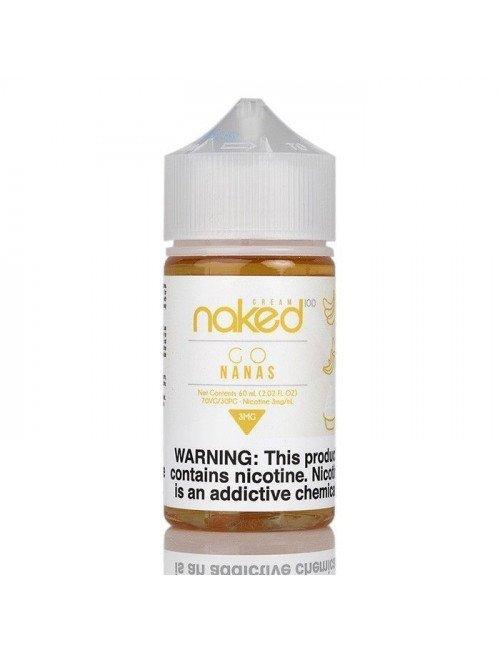 Naked 100 Cream - Go Nanas 60ml